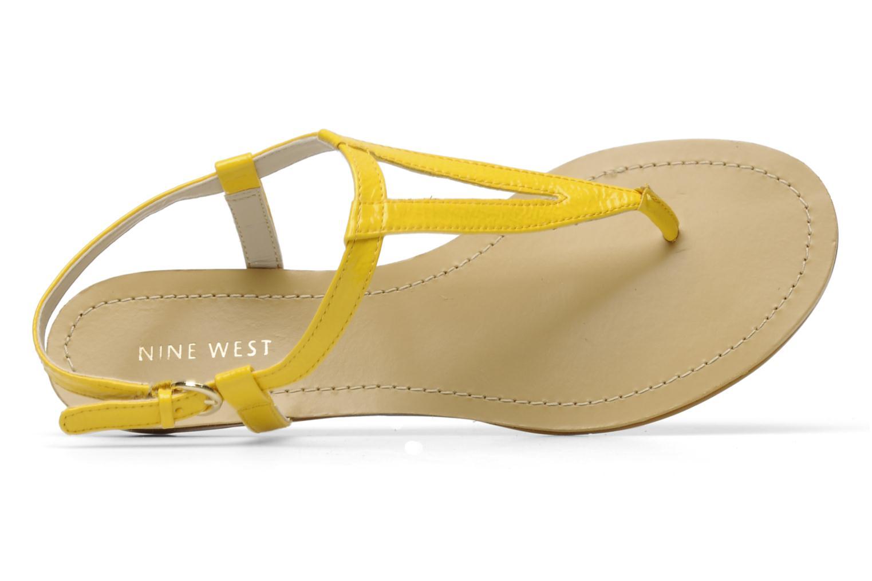 Sandales et nu-pieds Nine West Weightless 3 Jaune vue gauche