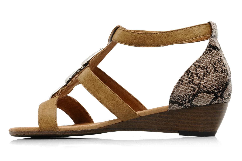 Sandalen Madison Rimon braun ansicht von vorne