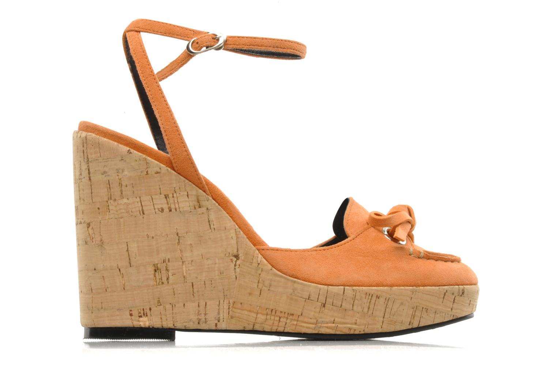 Sandales et nu-pieds Sebago & Gaspard Yurkievich Ydriss Orange vue derrière