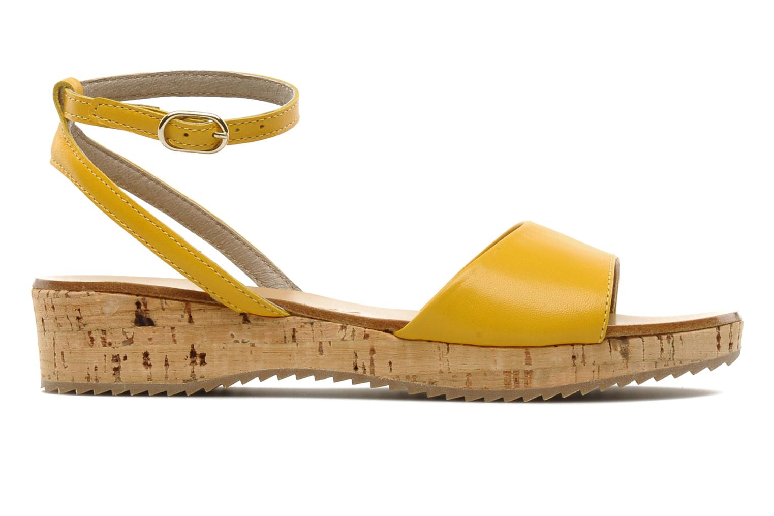 Sandals C'Entre Maman & Moi! Lucy Yellow back view
