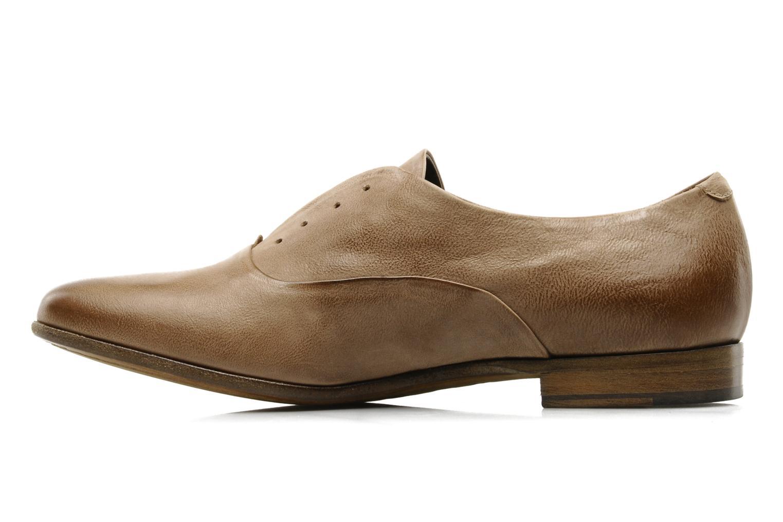 Chaussures à lacets Sartore Saber Marron vue face