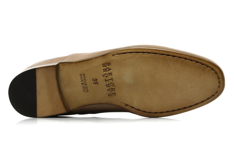 Chaussures à lacets Sartore Saber Marron vue haut