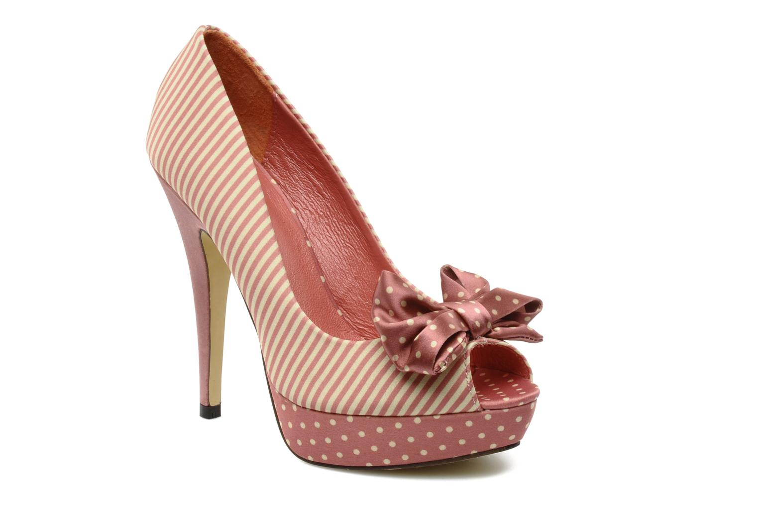High heels Menbur Pisum Ot Pink detailed view/ Pair view