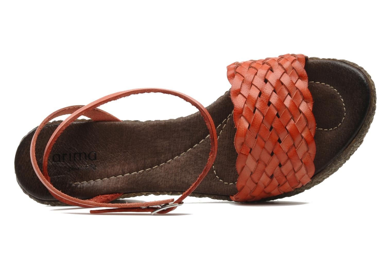 Sandali e scarpe aperte Arima pour Elle Panache Arancione immagine sinistra