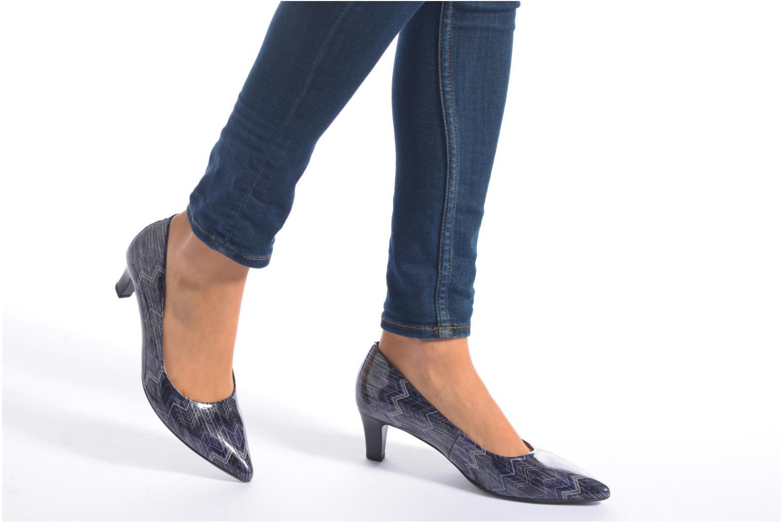 Zapatos de tacón Gabor Emilie Azul vista de abajo