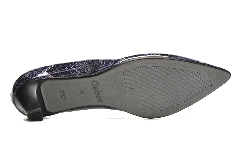 Zapatos de tacón Gabor Emilie Azul vista de arriba