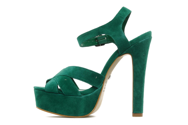 Sandali e scarpe aperte Buffalo Lizy Verde immagine frontale