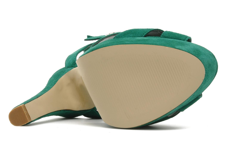 Sandali e scarpe aperte Buffalo Lizy Verde immagine dall'alto