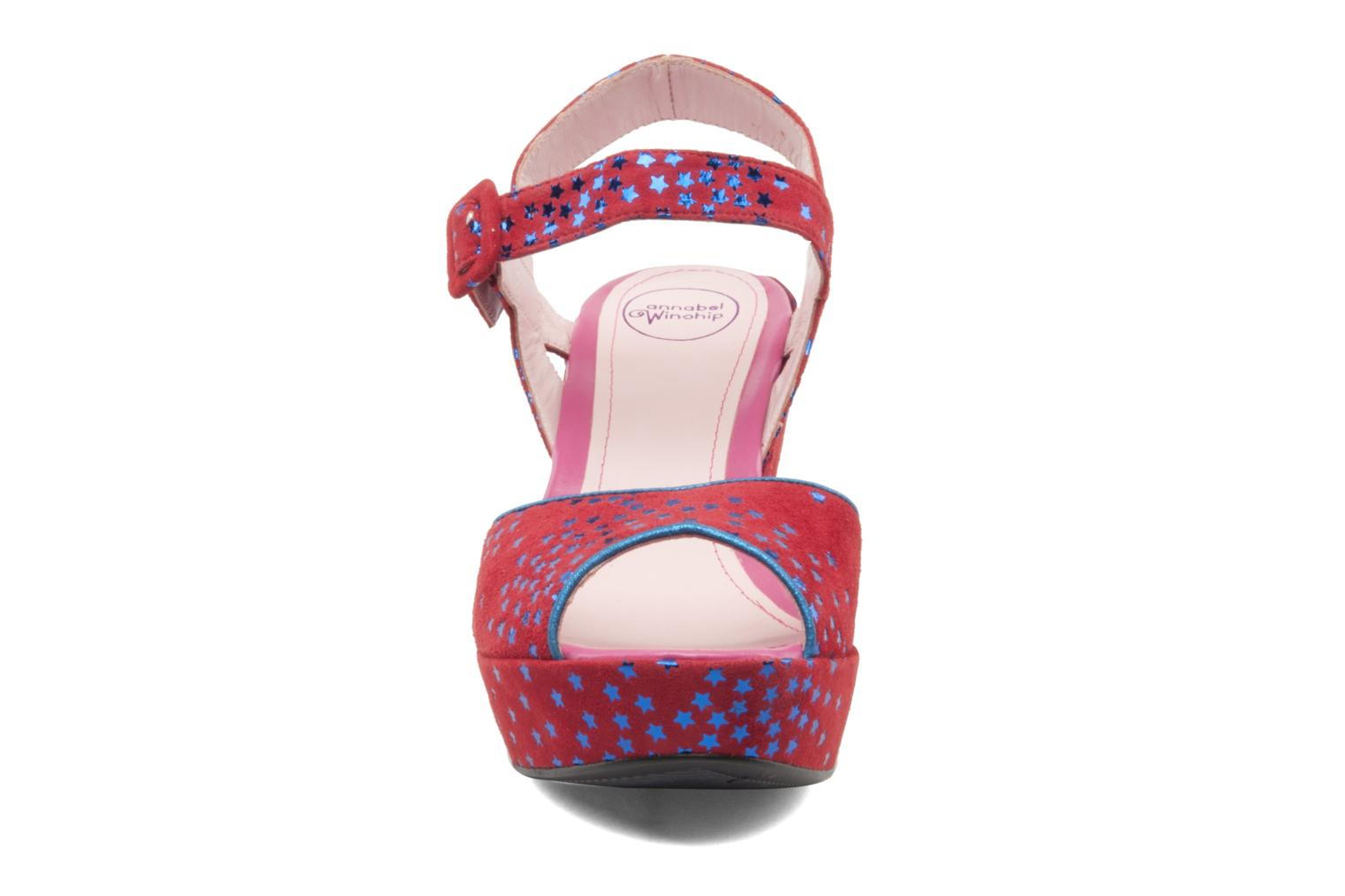 Sandals Annabel Winship Jodie Red model view