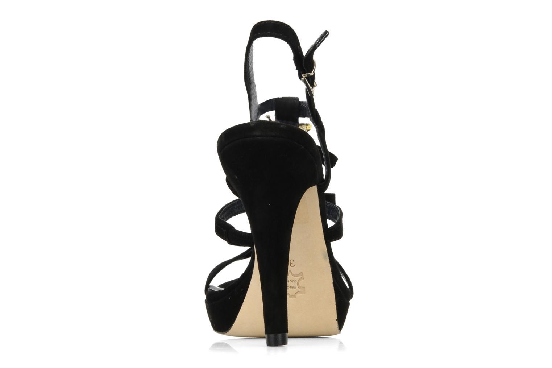 Sandales et nu-pieds Barachini Elmora Noir vue droite