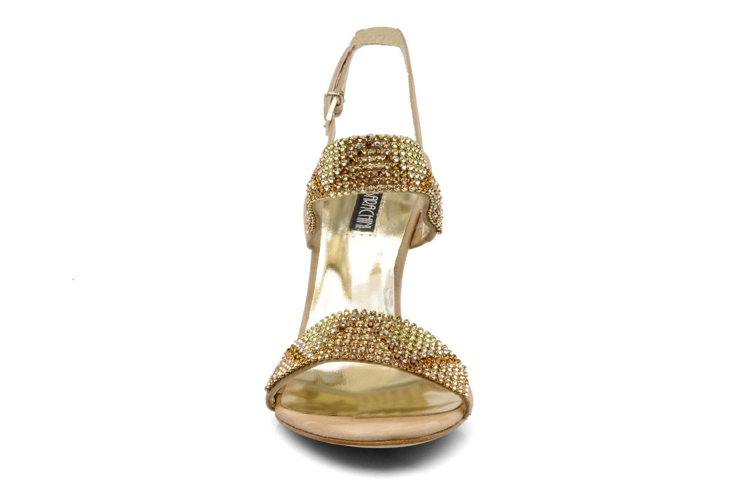 Sandals Barachini Andrama Beige model view