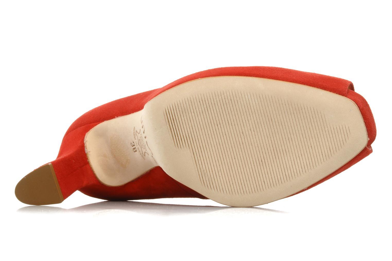 High heels Unisa Siro ks Red view from above