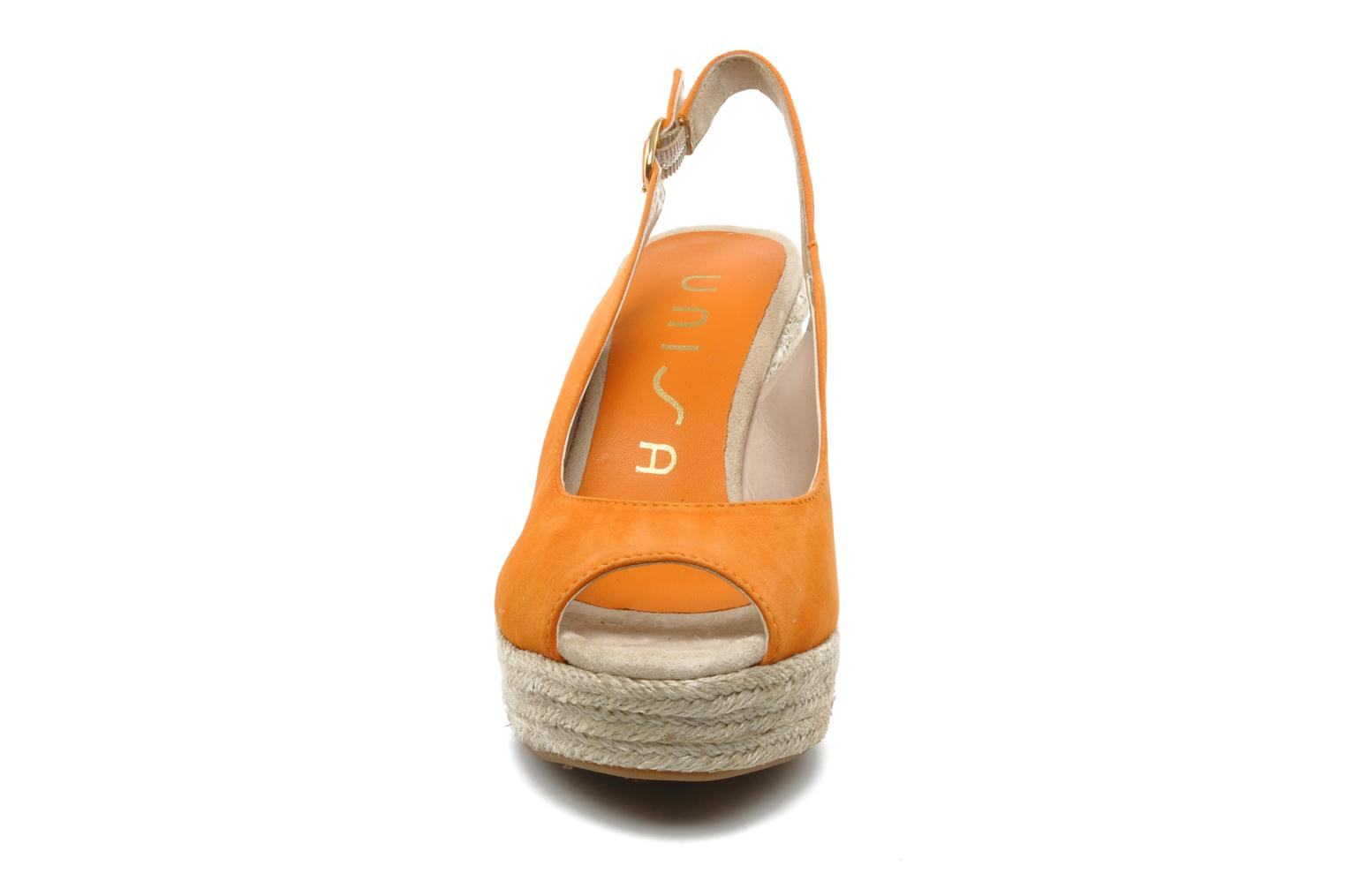 Sandals Unisa Merin ks Orange model view