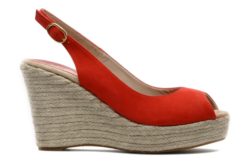 Sandals Unisa Merin ks Red back view