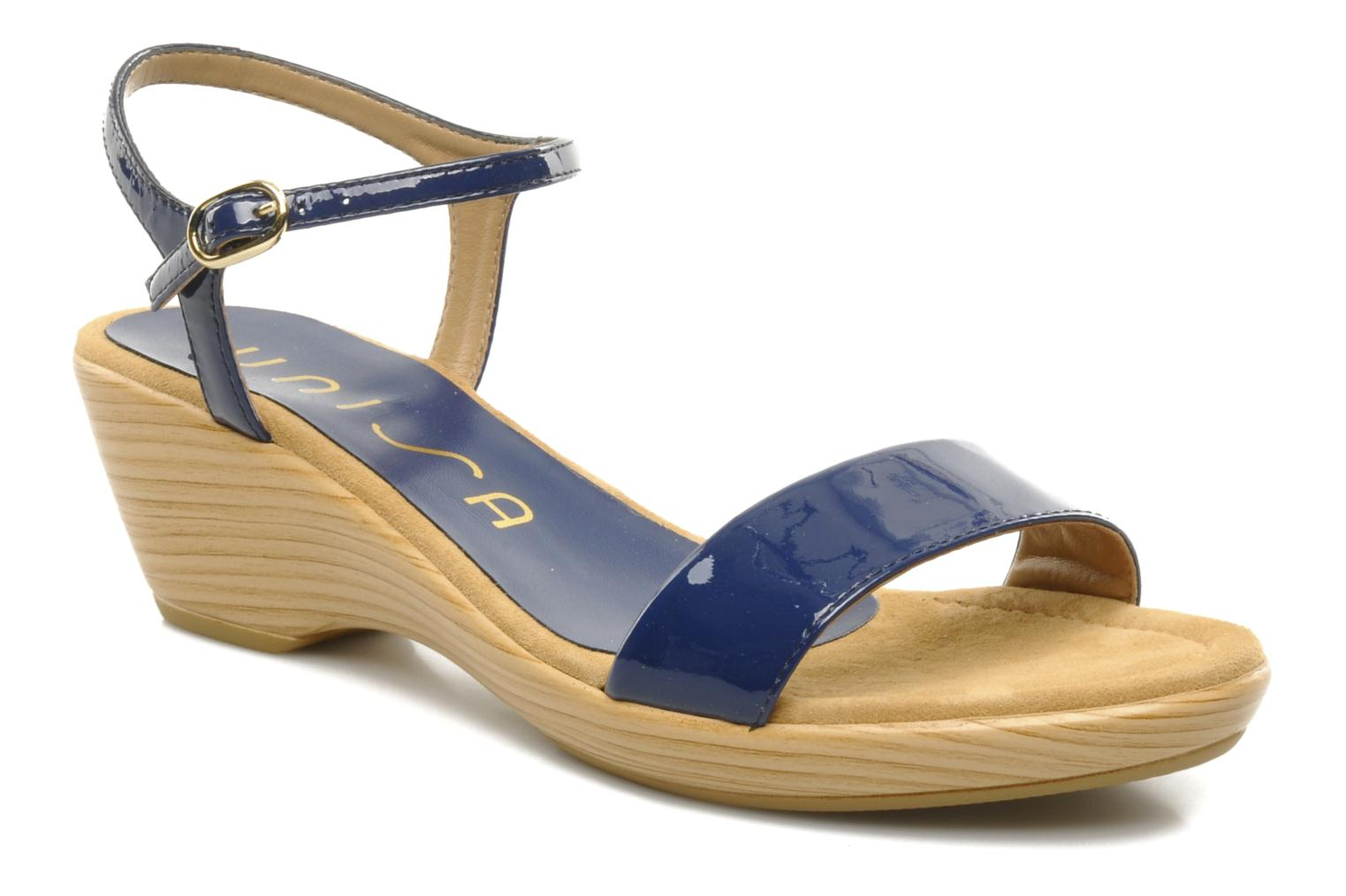 Sandals Unisa Irita ve Blue detailed view/ Pair view