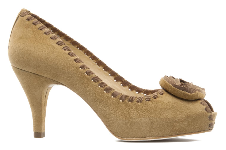 High heels Unisa Unelo ks Beige back view