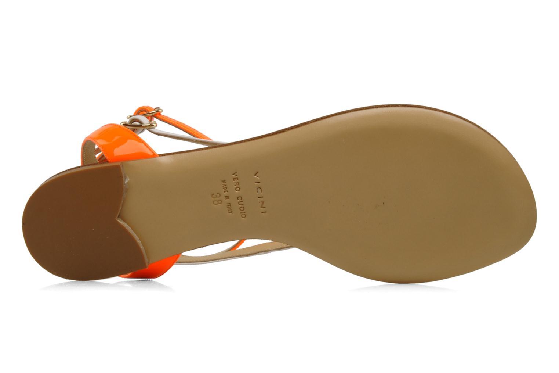 Sandales et nu-pieds Vicini Victorinne Blanc vue haut