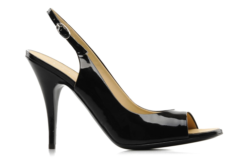 Sandales et nu-pieds Vicini Vrille Noir vue derrière