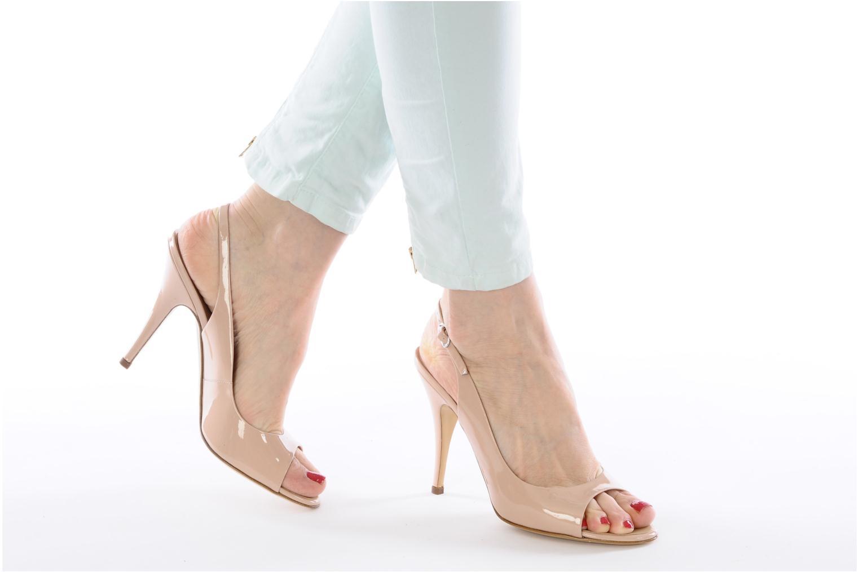 Sandales et nu-pieds Vicini Vrille Rose vue bas / vue portée sac