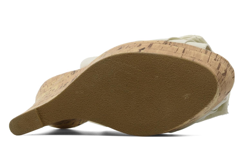 Sandalen Latinas Lignee beige ansicht von oben