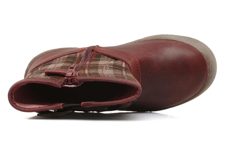Boots en enkellaarsjes Palladium Botto Mix Bordeaux links
