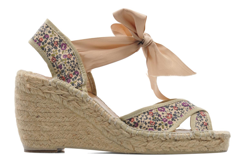 Sandales et nu-pieds Pare Gabia Koma Multicolore vue derrière