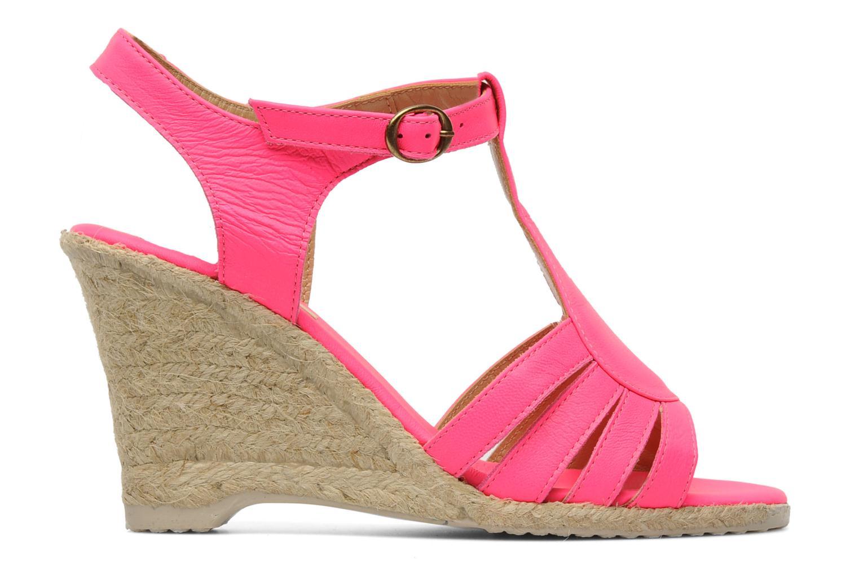 Sandalen Pare Gabia Assana Roze achterkant