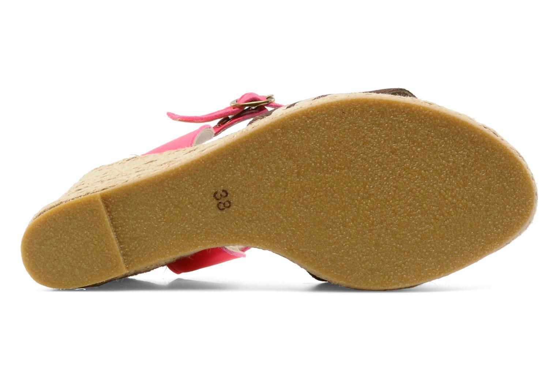 Sandales et nu-pieds Pare Gabia Ossia Marron vue haut