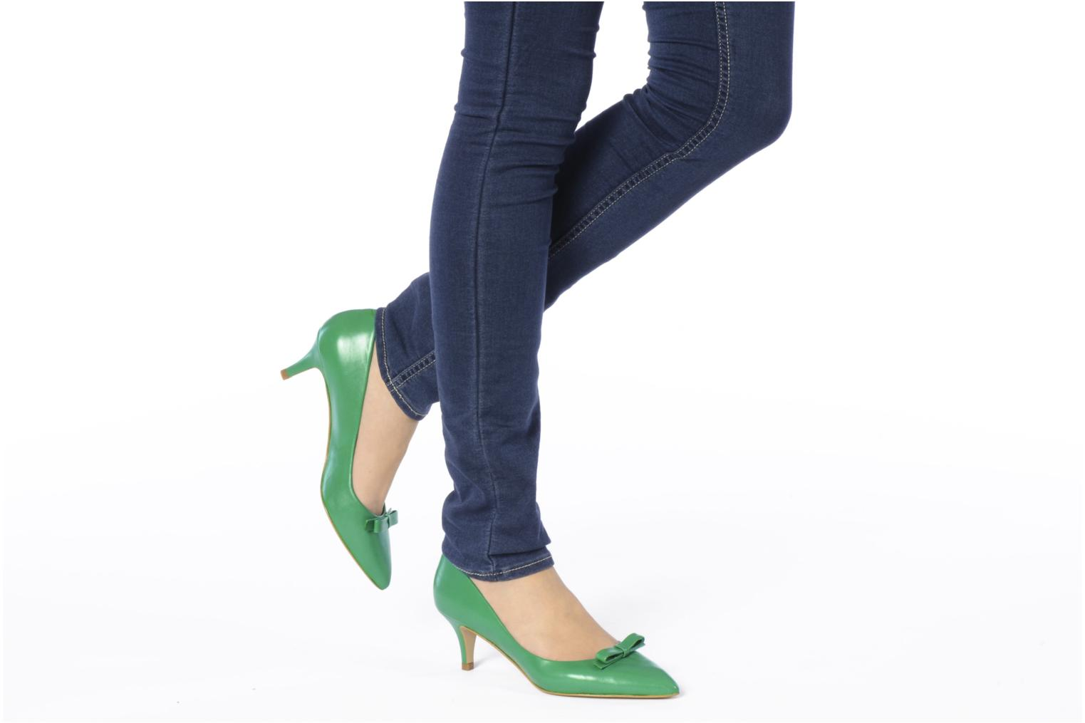 High heels Georgia Rose Maëllys Green view from underneath / model view