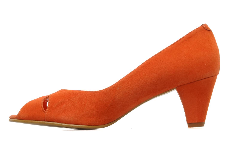 High heels Georgia Rose Magui Orange front view