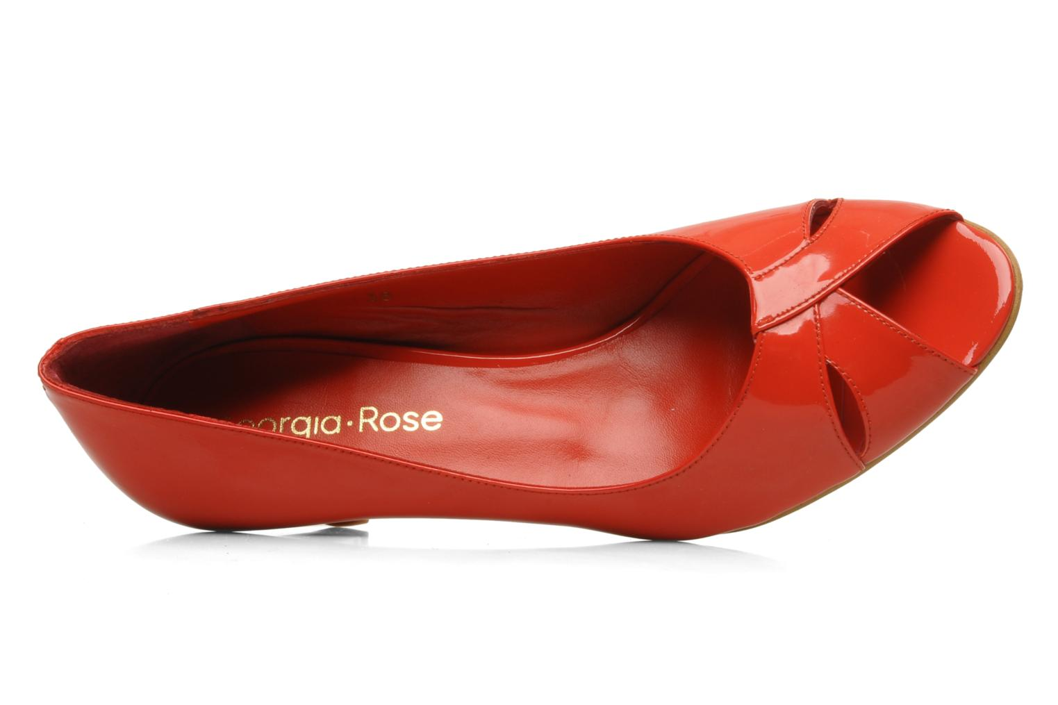High heels Georgia Rose Magui Red view from the left
