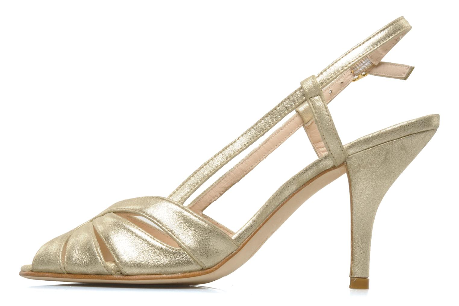 Sandals Georgia Rose Maraki Bronze and Gold front view