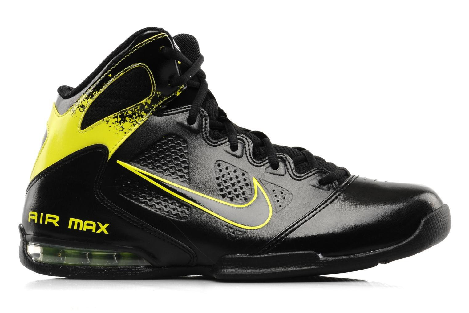 Sport shoes Nike Air max full court 2 nt Black back view