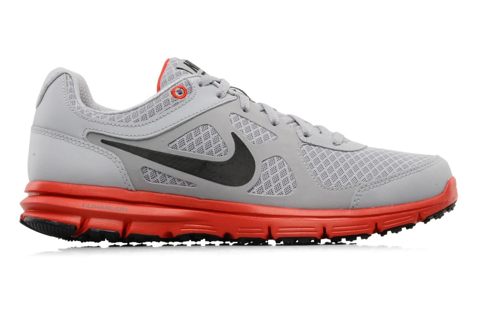 Sport shoes Nike Lunar forever Grey back view