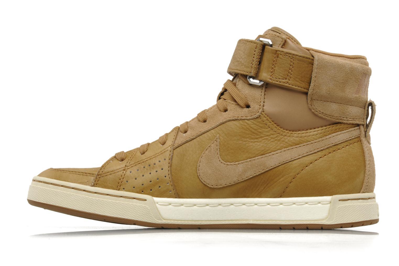 Sneakers Nike Nike air flytop Beige immagine frontale