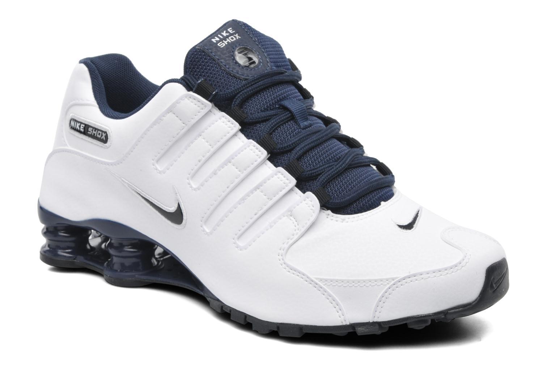 Chaussures de sport Nike Nike shox nz eu Blanc vue détail/paire