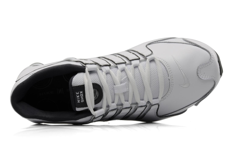 Scarpe sportive Nike Nike shox nz eu Bianco immagine sinistra