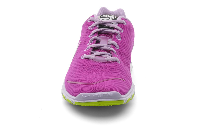 Chaussures de sport Nike Wmns nike free tr fit 2 Violet vue portées chaussures