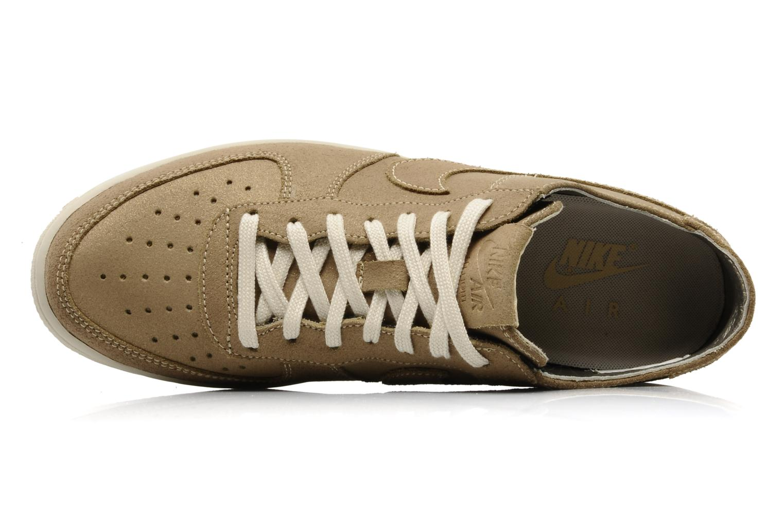 Sneakers Nike Wmns air force 1 low light Oro e bronzo immagine sinistra