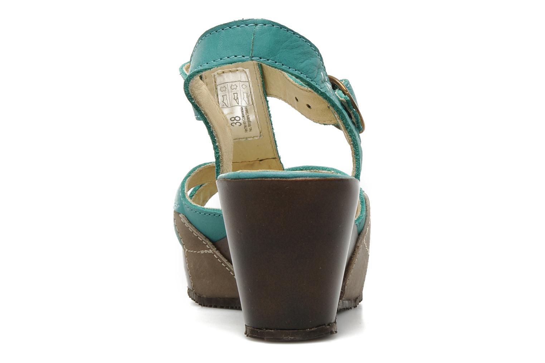 Sandales et nu-pieds Sergio Tomani Mula 3903 Bleu vue droite