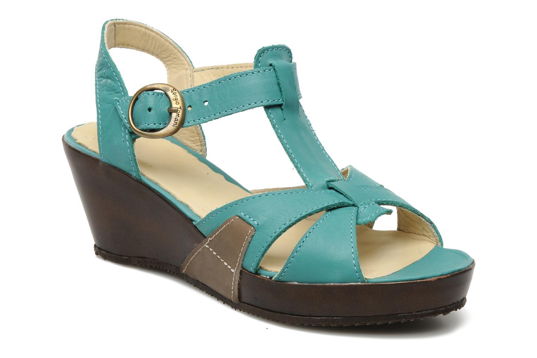 Sandales et nu-pieds Sergio Tomani Mula 3903 Bleu vue détail/paire
