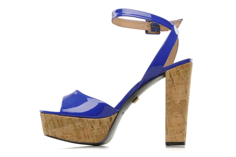 Sandales et nu-pieds Pour La Victoire Nasha Bleu vue face