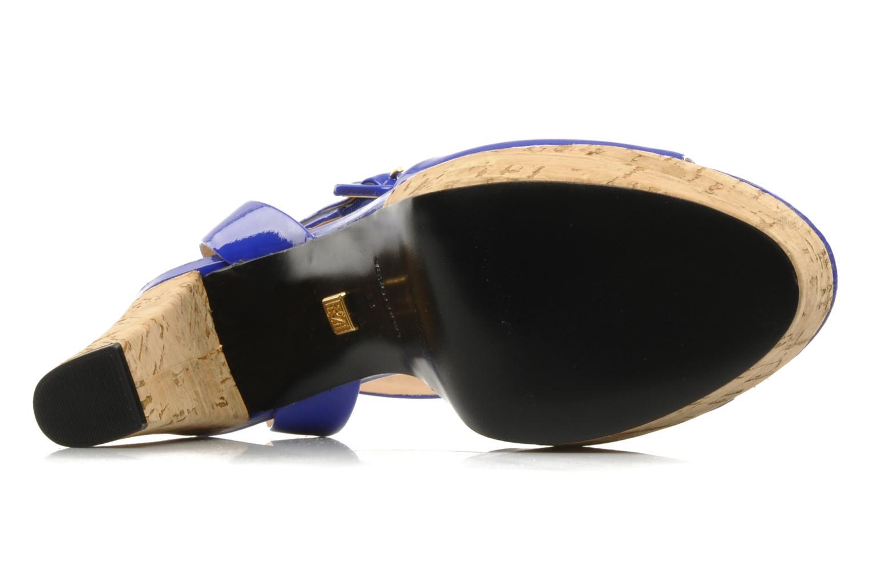 Sandales et nu-pieds Pour La Victoire Nasha Bleu vue haut