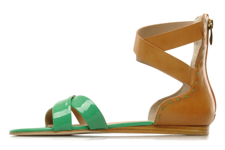 Sandalen Pour La Victoire Fabia grün ansicht von vorne