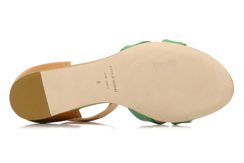 Sandalen Pour La Victoire Fabia grün ansicht von oben