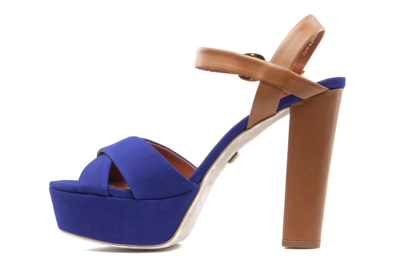 Sandales et nu-pieds Pour La Victoire Neysa Bleu vue face
