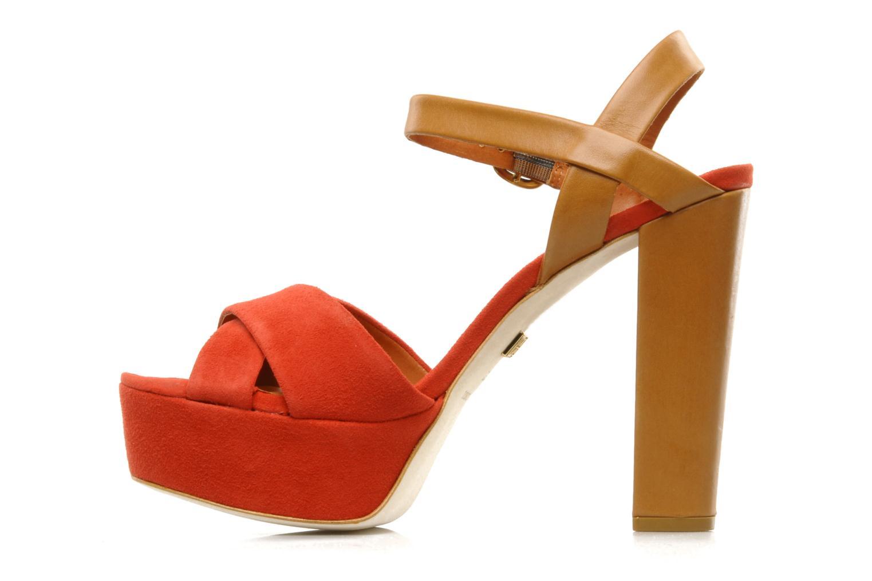 Sandales et nu-pieds Pour La Victoire Neysa Rouge vue face