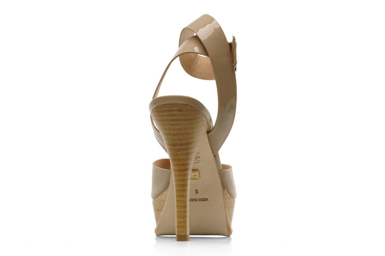Sandales et nu-pieds Pour La Victoire Taryn Beige vue droite