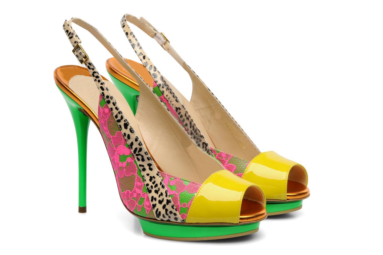 Sandals Ernesto Esposito Eba Multicolor 3/4 view