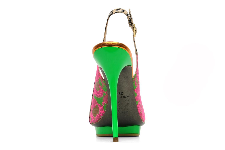 Sandals Ernesto Esposito Eba Multicolor view from the right